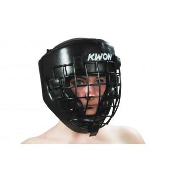 Kopfschutz mit Eisengitter