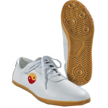 Schuhe Wu Shu Leder