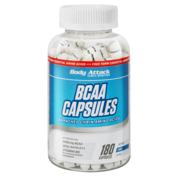 Body Attack BCAA Capsules -...