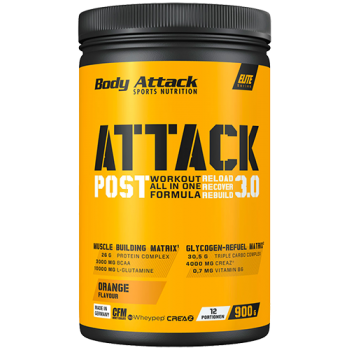 Body Attack Post Attack 3.0...