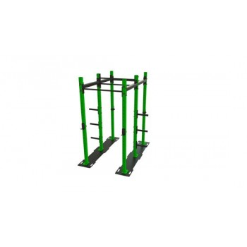 Power Rack mit Klimmzugstange