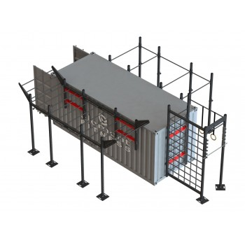 20ft Fitness Container