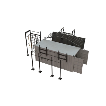20ft Fitness Container mit...