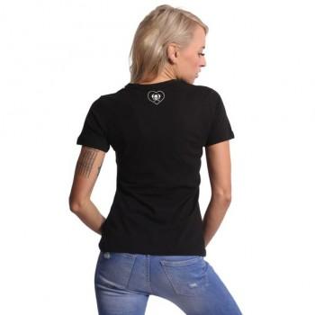 Bubble Skull V-Neck T-Shirt