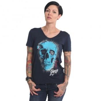 Glowing Skull Crew T-Shirt,...