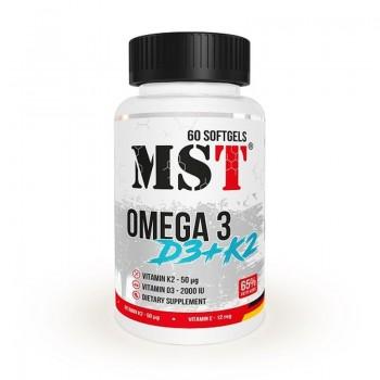MST - Omega 3 D3+K2