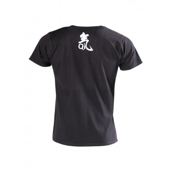 QI T-Shirt schwarz