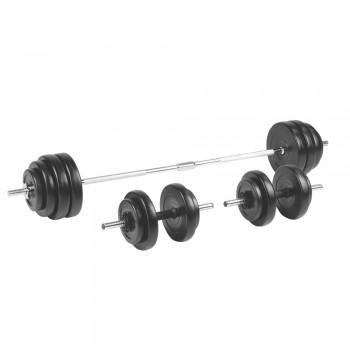 BS208 Ladehantelset 3-50 kg