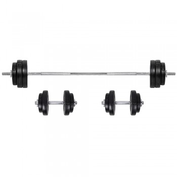 BS08 3-50 kg Ladehantel Set