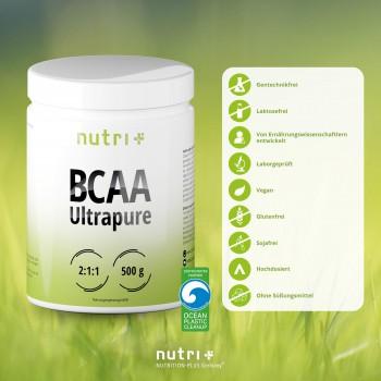 nutri+ veganes BCAA Pulver,...
