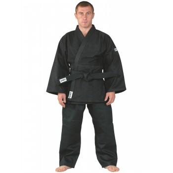 Judoanzug Training, schwarz