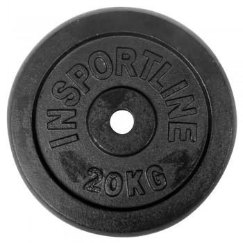 Stahlgewichtsscheibe 20 kg