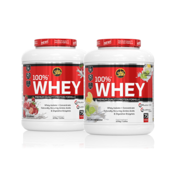100% Whey 2270g Dose - All...