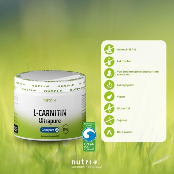 nutri+ L-Carnitin Ultrapure...