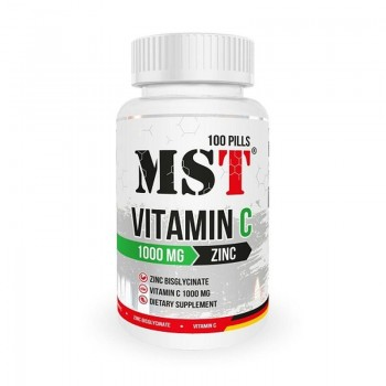 MST - Vitamin C 1000 + Zinc...
