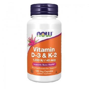 Now - Vitamin D3 & K2 120...