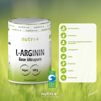 nutri+ veganes L-Arginin...