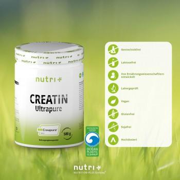 nutri+ veganes Creatin...