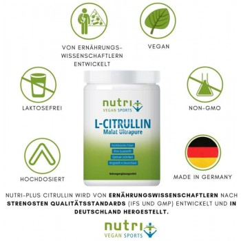 nutri+ veganes L-Citrullin...