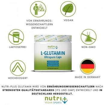 nutri+ vegane L-Glutamin...