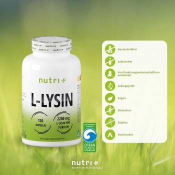 nutri+ vegane L-Lysin...