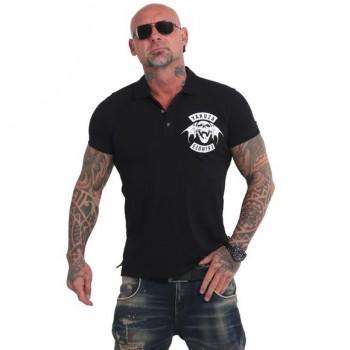 893MC Polo Shirt, schwarz