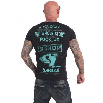 XXX Shop T-Shirt, schwarz