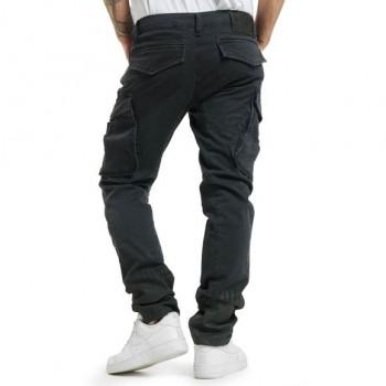Splatter Cargo Pants, schwarz