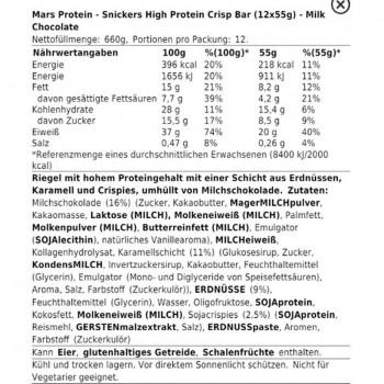 Snickers HI Protein Crisp...