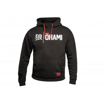 Okami Hoodie Kanji - schwarz
