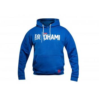 Okami Hoodie Kanji - Blau