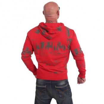 Toxin Kapuzenjacke, ribbon red