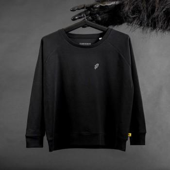 BE NICE Schwarz Sweatshirt...