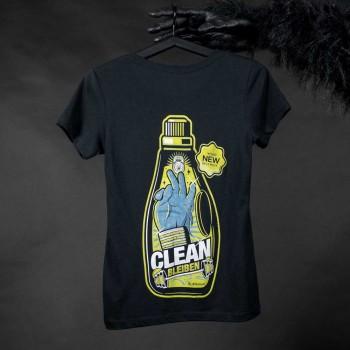 Clean Bleiben T-Shirt Damen