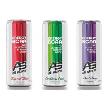 All Stars Energy BCAA, 12 x...