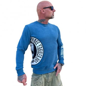 Puppy Pullover, mallard blue